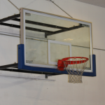 Hoop for the basket ball court